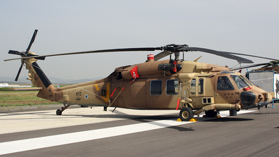 812 - Sikorsky S-70A-9 Yanshuf 3 - Israel - Air Force
