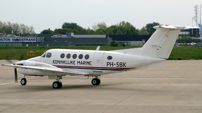 PH-SBK - Beechcraft 200 Super King Air - Nationale Luchtvaartschool (NLS)
