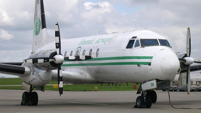G-AYIM - Hawker Siddeley HS-748 Series 2A - Emerald Airways