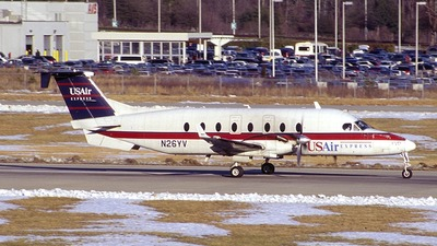 N23YV - Beech 1900D - USAir Express (Air Midwest)
