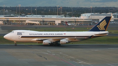 9V-SFG - Boeing 747-412F(SCD) - Singapore Airlines Cargo