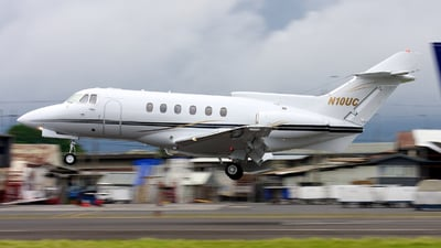 N10UC - Hawker-Siddeley HS-125-700A - Private