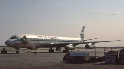 N871TV - Douglas DC-8-63(CF) - Flying Tigers
