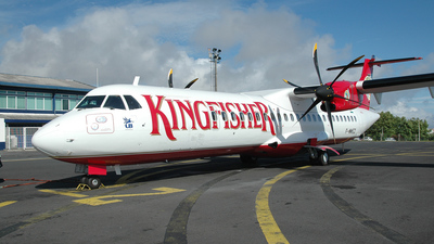 F-WWEZ - ATR 72-212(500) - Kingfisher Airlines