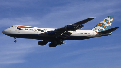 G-BDXD - Boeing 747-236B - British Airways