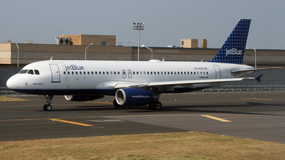 N520JB - Airbus A320-232 - jetBlue Airways