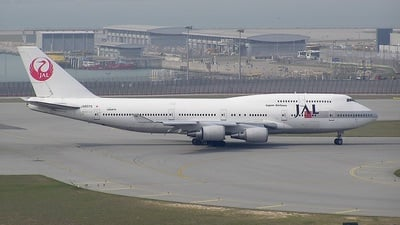JA8075 - Boeing 747-446 - Japan Airlines (JAL)