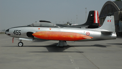 455 - Lockheed T-33 Shooting Star - Perú - Air Force