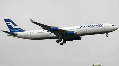 F-WWJG - Airbus A340-313E - Finnair