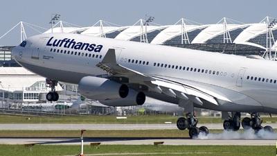 D-AIGD - Airbus A340-311 - Lufthansa