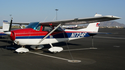 A picture of N1734F - Cessna 172H Skyhawk - [17255129] - © Sun Valley Aviation