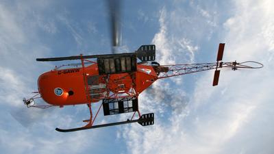 C-GAWW - Aérospatiale SA 315B Lama - Dam Helicopters