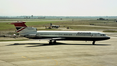 G-AWZJ - Hawker Siddeley HS-121 Trident 3 - British Airways