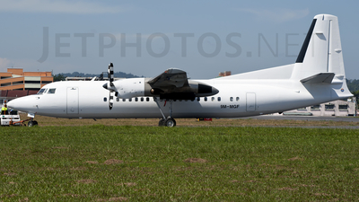 9M-MGF - Fokker 50 - Untitled
