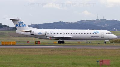 PH-MJL - Fokker 100 - KLM Cityhopper