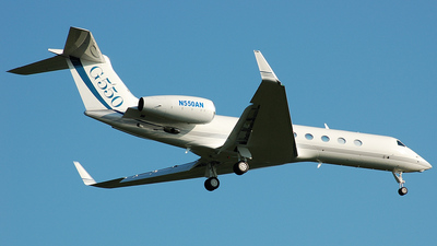 N550AN - Gulfstream G550 - Gulfstream Aerospace