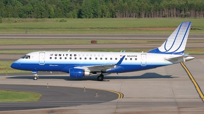 N645RW - Embraer 170-100SE - United Express (Chautauqua Airlines)