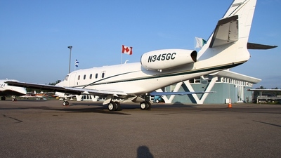 A picture of N345GC - Gulfstream G100 - [023] - © Maxime Branchaud
