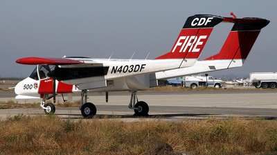 N403DF - North American OV-10A Bronco - United States - California Department of Forestry