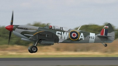 G-CTIX - Supermarine Spitfire T.9 - Private