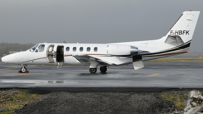 F-HBFK - Cessna 550 Citation II - Private