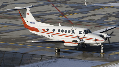 HB-GIL - Beechcraft 200 Super King Air - Air-Glaciers