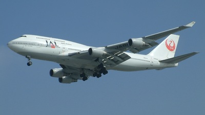 JA8080 - Boeing 747-446 - Japan Airlines (JAL)