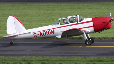 A picture of GAORW - De Havilland Canada DHC1 Chipmunk - [C1/0130] - © iain glennie