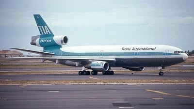 N102TV - McDonnell Douglas DC-10-30(CF) - Trans International Airlines (TIA)