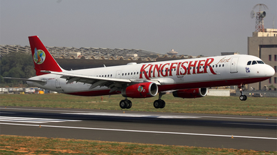 VT-KFP - Airbus A321-232 - Kingfisher Airlines