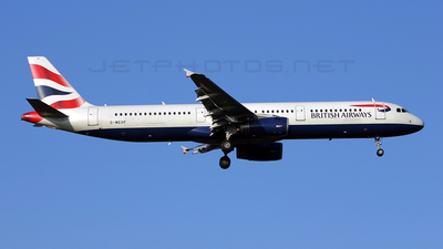 G-MEDF - Airbus A321-231 - British Airways (BMED)