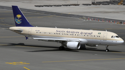 HZ-AS11 - Airbus A320-214 - Saudi Arabian Airlines