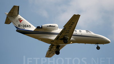 B-3645 - Cessna 525 CitationJet 1 Plus - Civil Aviation Flight University of China (CAFUC)
