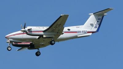 VH-FDZ - Beechcraft B200 Super King Air - Royal Flying Doctor Service of Australia (Queensland Section)