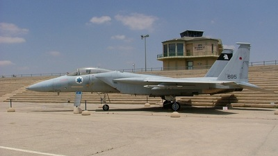695 - McDonnell Douglas F-15C Eagle - Israel - Air Force