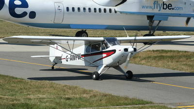 G-AWPW - Piper PA-12-125 Super Cruiser - Private