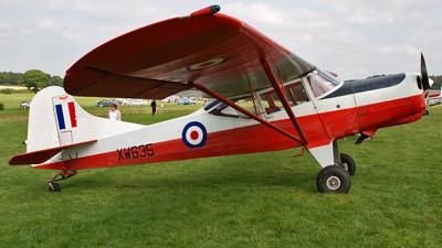 G-AWSW - Beagle D5/180 Husky - Private