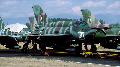 383 - Mikoyan-Gurevich MiG-21bis Fishbed L - Bulgaria - Air Force