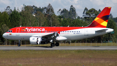 HK-4552-X - Airbus A319-115 - Avianca