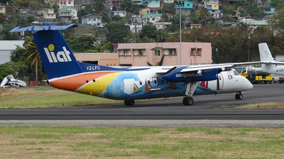 V2-LFU - Bombardier Dash 8-Q314 - Leeward Islands Air Transport (LIAT)