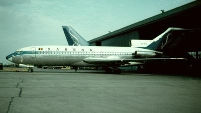 OO-STA - Boeing 727-29 - Sabena