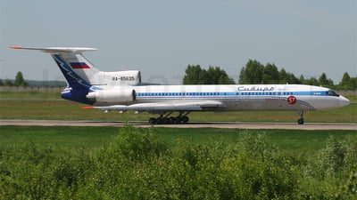 RA-85635 - Tupolev Tu-154M - S7 Airlines