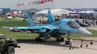 48 - Sukhoi Su-34 Fullback - Russia - Air Force