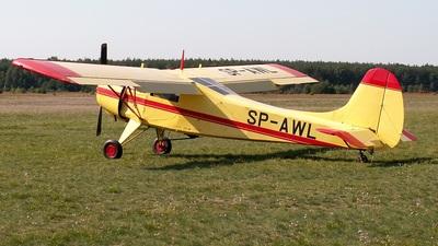 SP-AWL - Yakovlev Yak-12M - Aero Club - Poznanski