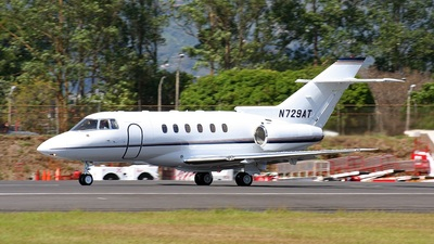 A picture of N729AT - Hawker 800XP - [258402] - © Tomás Cubero Maingot - SJO Spotter