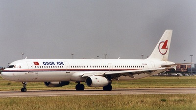TC-ONI - Airbus A321-131 - Onur Air