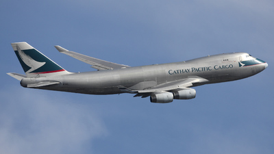 B-HUL - Boeing 747-467F(SCD) - Cathay Pacific Cargo
