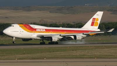 TF-AMA - Boeing 747-412 - Iberia