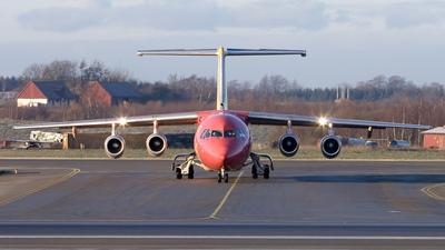 SE-DSX - British Aerospace Avro RJ100 - Malmö Aviation