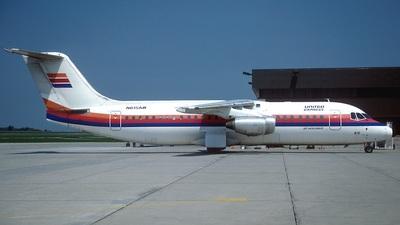 N615AW - British Aerospace BAe 146-300A - United Express (Air Wisconsin)